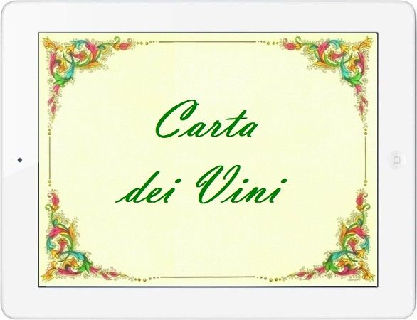 Carta dei Vini su Tablet by Antonio Ruggiero